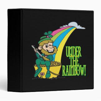 Under The Rainbow Vinyl Binder
