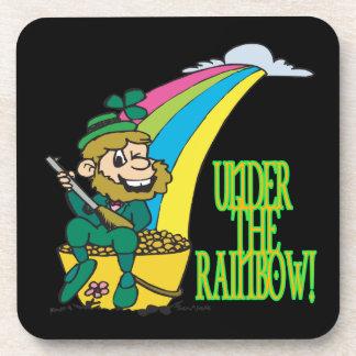 Under The Rainbow Drink Coasters