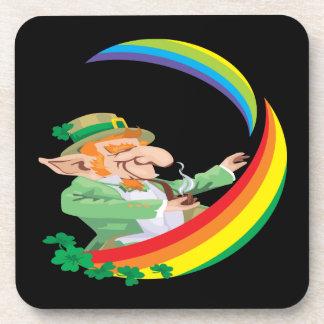 Under The Rainbow Drink Coaster