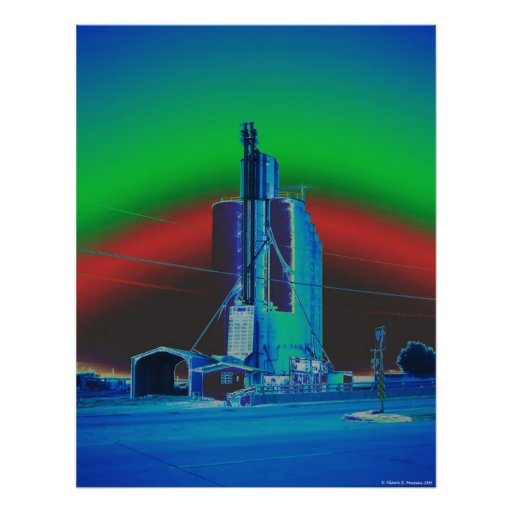 Under The Rainbow: Elevator #1 - Fine Art Print