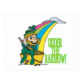 Under The Rainbow Post Card