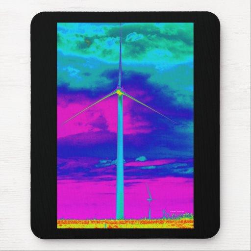 Under the Rainbow: Prairie Wind #4 - Mouse Pad