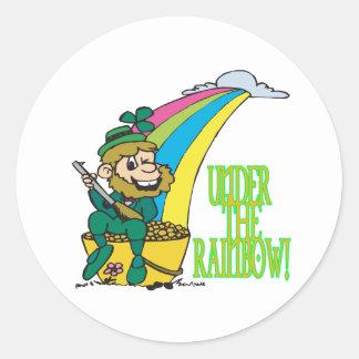 Under The Rainbow Stickers