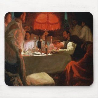 Under the Red Light, c.1910 Mouse Pad