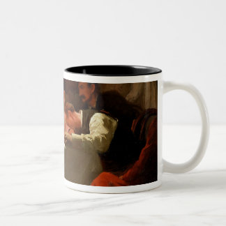 Under the Red Light, c.1910 Two-Tone Coffee Mug