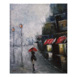 Under The Red Umbrella Poster