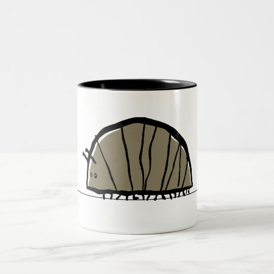 under the rock Two-Tone coffee mug