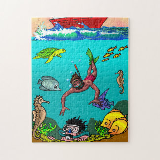 "Under The Sea, 11"" x 14"", 252 pieces Jigsaw Puzzle"