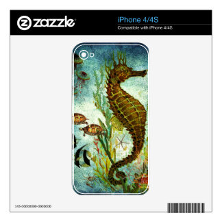 UNDER THE SEA 2.jpg Skin For iPhone 4
