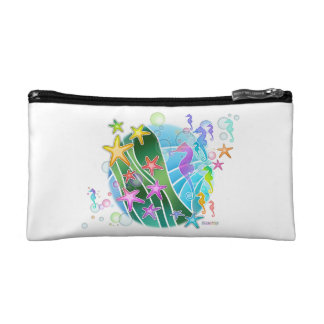 UNDER THE SEA ACCESSORY CLUTCH COSMETIC BAG