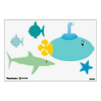 Under the Sea Any Color Baby Boy Girl Wall Skins
