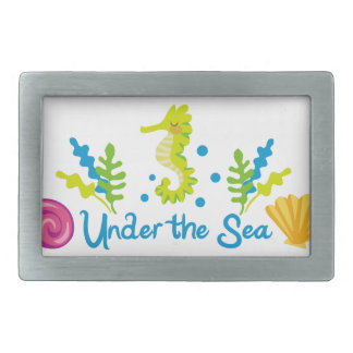 Under The Sea Arch Belt Buckle