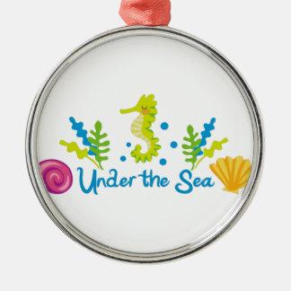 Under The Sea Arch Metal Ornament