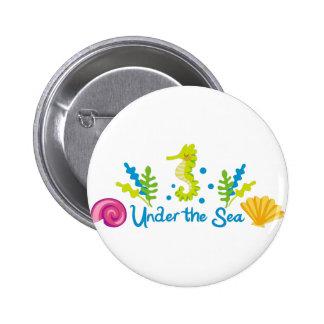 Under The Sea Arch Pinback Button