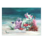 Under the Sea Art Card Large Business Cards (Pack Of 100)