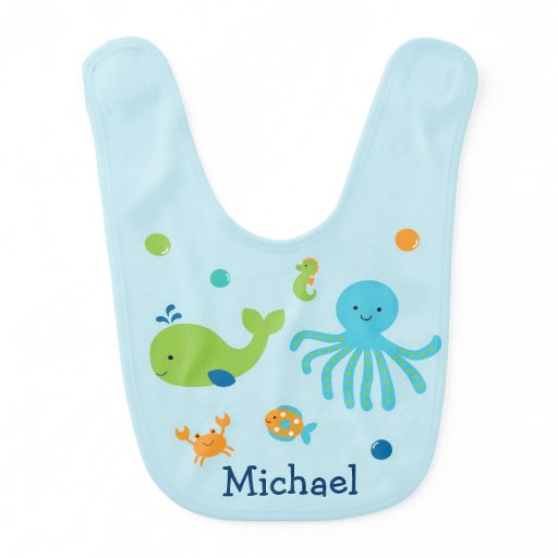 Under the Sea Baby Bib
