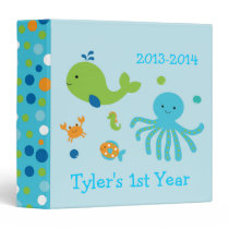 Under the Sea Baby Photo Album Binder
