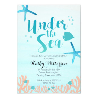 under_the_sea_baby_shower_invitation r36810aaf3ebe4a14b6753b6cf56824da_zkrqe_324?rlvnet=1 under the sea baby shower invitations & announcements zazzle,Under The Sea Baby Shower Invitation Wording