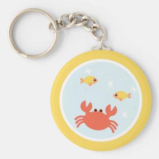 Under the Sea Birthday Party Keychain