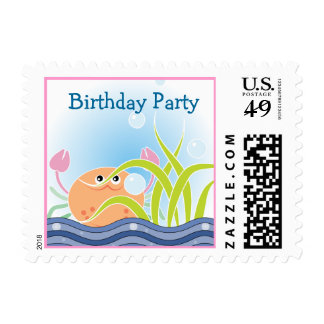 Under The Sea Birthday Party Postage