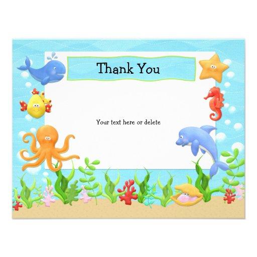 Under The Sea Invitation Template for best invitation example