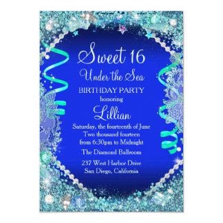 Under The Sea Sweet 16 Invitations & Announcements | Zazzle