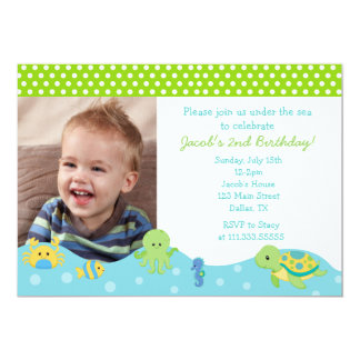 Crab Party Invitations Announcements Zazzle
