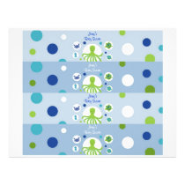 Under the Sea Boys Nautical Water Bottle Labels Flyer