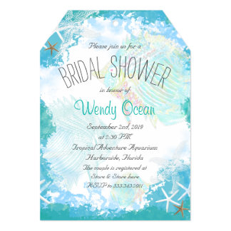 Under the Sea Bridal Shower Card