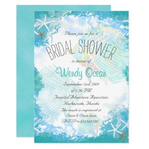 Under the sea bridal shower invitations announcements zazzle under the sea bridal shower invitation filmwisefo