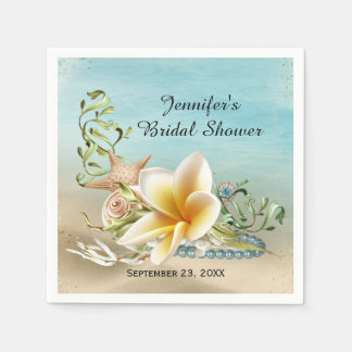 Under the Sea Bridal Shower Napkin