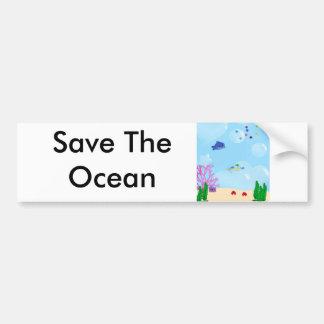 Under the Sea Bumper Sticker