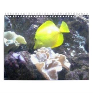Under The Sea Calender Calendar