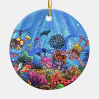 Under the Sea Ceramic Ornament