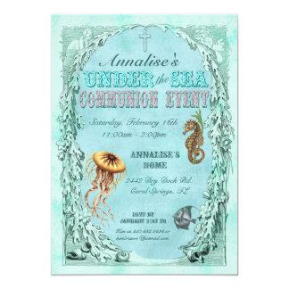 Under the Sea Communion Invitation - Pink
