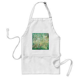 Under the Sea:  Coral Tropical Reef Adult Apron
