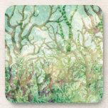 Under the Sea:  Coral Tropical Reef Beverage Coaster