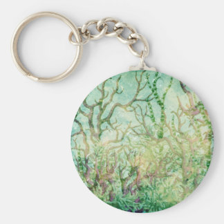 Under the Sea:  Coral Tropical Reef Keychain
