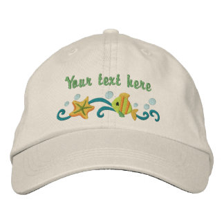 Under the Sea - customize Embroidered Baseball Hat