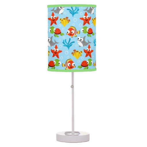 Under the sea desk lamp zazzle for Table lamps under 50