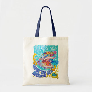 Under the sea dreams tote bag