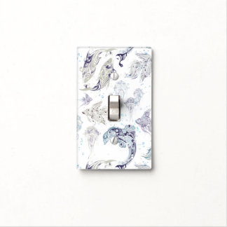 Under The Sea Fantasy Fish - Light Switch Cover