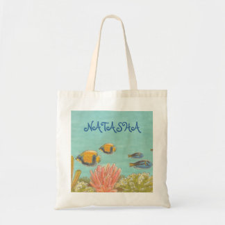 Under the Sea Fish Organic L.I.F.E. Grocery Tote B