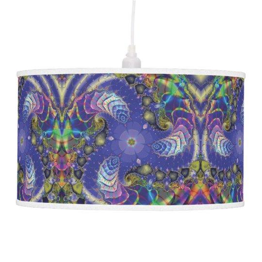 Fractal Pendant Lights: Under The Sea Fractal Ceiling Lamp