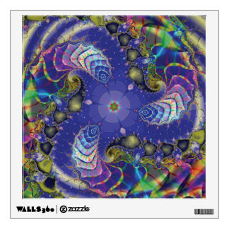 Under The Sea Fractal Wall Decal