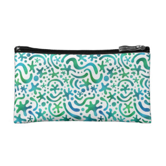 Under the Sea Funky Blob & Squiggle Pattern Bag