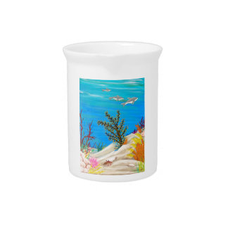 Under the Sea Gallery Pitcher