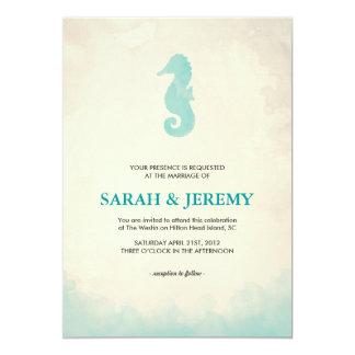 """Under the Sea 5"""" X 7"""" Invitation Card"""