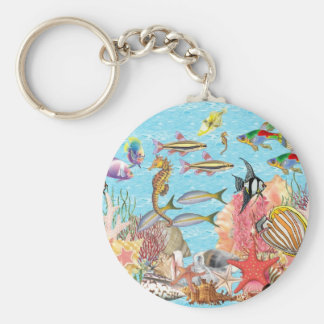 Under the sea keychain