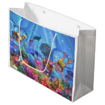 Under the Sea Large Gift Bag